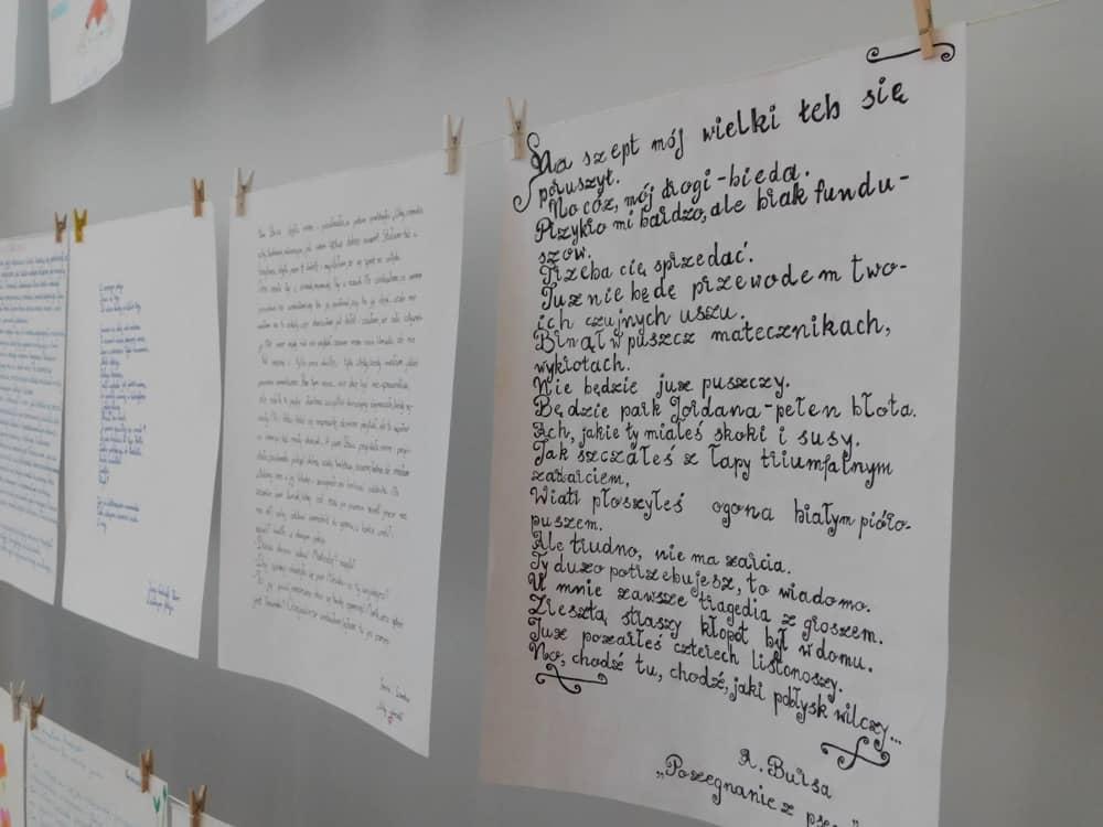 Finał I Edycji Powiatowego Konkursu Pięknego Pisania Filia