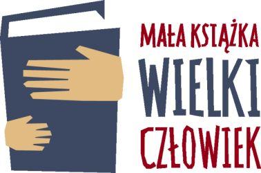 """logo projektu """"Mała ksiażka-wielki człowiek"""""""